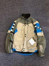 BMW Motorrad Rallye Jacket Size 52 Grey Motorbike / Motorcycle