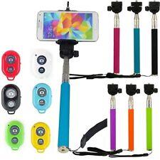 SELFIE STICK MONOPOD BLUETOOTH CAMERA SHUTTER REMOTE FOR MOBILE  iPHONE SAMSUNG