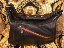 ~~~ Edgy And Rock N Roll~~~ TOD'S BLACK LEATHER HOBO BAG ~~~