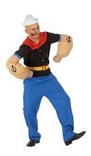 Popeye costume size adult Popeye