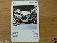 EASY RIDER 6D MORBIDELLI 125CC KWARTET KAART, QUARTETT CARD,SPIELKARTE