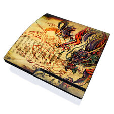 Skin Kit for Sony PS3 SLIM Console ~ Sanctus DRAGON LEGEND ~ Decal Sticker