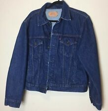 Vintage 80's Levis Jean Jacket Size 48 Mint XL