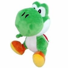 Super Mario Brothers Bros Green Yoshi Plush 7in Stuffed Toy Kids Baby Gifts