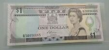 Willie :Fiji 1 Dollars 1993 QEII, UNC