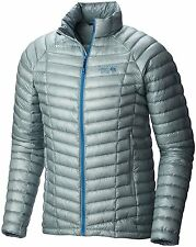 Mountain Hardwear Ghost Whisperer 800 2XL Down Jacket Men's XXL ICE SHADOW