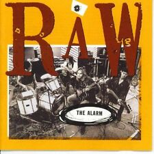 THE ALARM - RAW - 10 TRACK MUSIC CD - LIKE NEW - E796