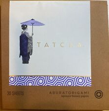 (New)TATCHA Aburatorigami Japanese Beauty Papers (30 Sheets), Handmade in Japan