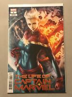 LIFE OF CAPTAIN MARVEL #1 STANLEY ARTGERM LAU VARIANT COVER 2018 1ST FIRST PRINT