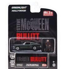 BULLITT 1968 Ford Mustang GT + Steve McQueen Figure **** Greenlight 1:64 OVP