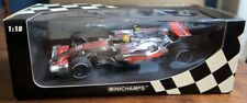 MINICHAMPS - Lewis Hamilton 2007 1/18 Formula 1 McLaren Racing Car. BOXED.