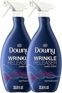 Downy Wrinkle Release Spray Plus Static Remover Odor Eliminator Fabric Pack of 2