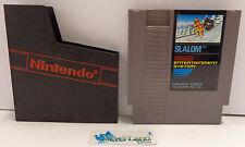 NES Console Gioco Game Play NINTENDO 8 BIT PAL B European Version - SLALOM -