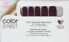 CS Nail Color Strips New York Minute 100% Nail Polish - USA Made!