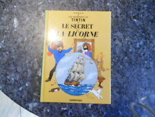 belle reedition tintin le secret de la licorne petit format