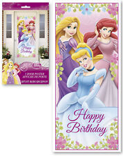 Disney Princess Plastic Party Door Poster Birthday Supplies