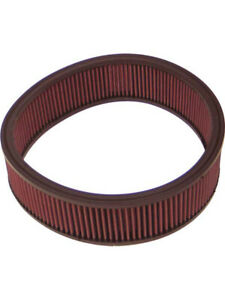K&N Round Air Filter FOR PLYMOUTH PB200 440 V8 CARB (E-1540)