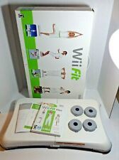 Wii Balance Board With Risers & Wii Fit Plus Game RVL-021 Nintendo