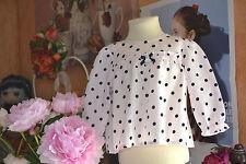 blouse  tartine et chocolat 6 mois  rose  poids noeuds pendentifs etat NEUF**