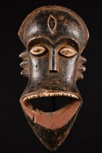 14067a Afrikanische Alte Hemba Maske / Mask DR Kongo