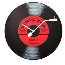 NeXtime Vinyl Tap Wall Clock 43cm - Black
