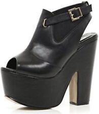 Women's Patent Leather Peep Toes Heels