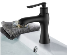 New Brass black Basin Faucet Single Handle Single Only Cold Water Facuet Tap