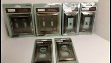 Allen Roth - New Set Of 6 Oil Rubbed Bronze Finish Wall Plate Covers Lot Look!