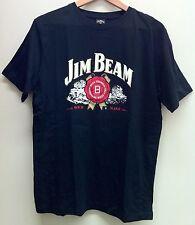 JIM BEAM AUTHENTIC 'SOUR MASH LOGO' MEN'S BLACK T-SHIRT SIZE: SMALL ($29.95rrp)