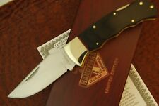 D'HOLDER LIMITED EDITION WOOD LOCKBACK HANDYMAN CLUB OF AMERICA KNIFE SCHRADE