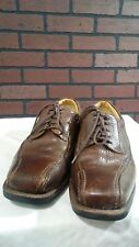SANDRO MOSCOLONI Oxford Brown Leather Lace Up Shoes sz- 8 D