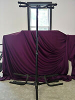 ON STAGE DOUBLE GUITAR STAND # GS7221BD MINT