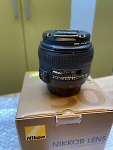 Nikon Nikkor AF-S 50mm F1.4G Lens (+ free Hoya filter)