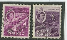 North Borneo Stamps Scott #264-265 (2) Used,VF (X6997N)