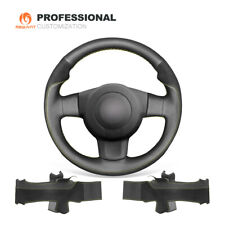 Leather Suede Steering Wheel Cover for Seat Leon FR|Cupra (MK2 1P) Ibiza FR (6L)