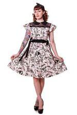 Collar Cotton Animal Print Casual Dresses for Women