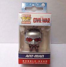 Funko Ant Man Pocket Pop! Bobble Head Key Chain Captain America Civil War