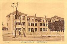 58 FOURCHAMBAULT CARTE POSTALE ECOLE DES GARCONS 1934