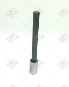 "SK Hand Tools 41464 1/2"" Dr. 14mm Long Hex Chrome Bit Socket"