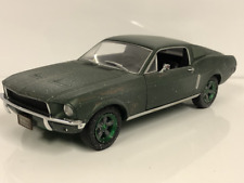 Steve McQueen Unrestored 1968 Mustang GT 1:24 Scale Greenlight 84043