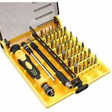 JACKLY 45 In 1 Pro Portable Opening Tool Precision Screwdriver Kit With Flexible