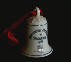Odenwälder Weihnachtsglocke 1981 - Rathaus Michelstadt (Hutschenreuther)