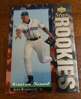 1994 Upper Deck Alex Rodriguez #24 Electric Diamond Star Rookies RC Mariners