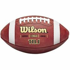 Wilson Tdj Traditional Junior Game Football, Brown W