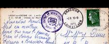 LASSAY-sur-CROISNE (41) CHATEAU DU MOULIN / Oblitération postale BRACIEUX 1970