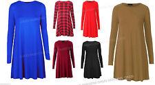 Knee Length Party Long Sleeve Skater Dresses for Women