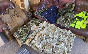 Large British Military Army Surplus Kit Job Lot