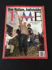September 24 2001 Time Magazine 9 11 September 11 Newsstand Edition