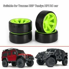 RC Car Drift Tires Tyre and Wheels 10-Spoke Blk for HSP HPI 1/10 Scale Drift HJ