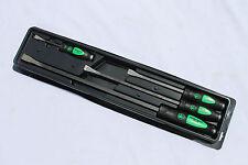 Matco Tools 4 Pc. Green Pry Bar Set Striking Handle Heavy Duty PBSG4A Brand New